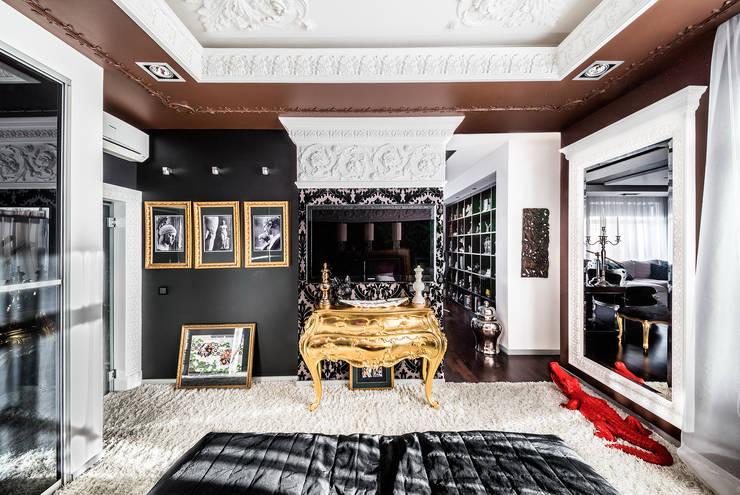 Интерьер квартиры в стиле Фьюжн: Спальни в . Автор – Belimov-Gushchin Andrey