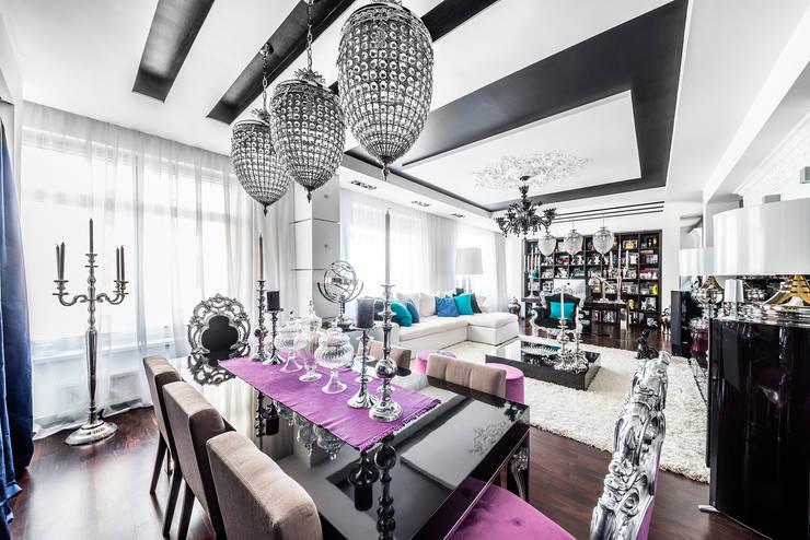 Интерьер квартиры в стиле Фьюжн: Столовые комнаты в . Автор – Belimov-Gushchin Andrey