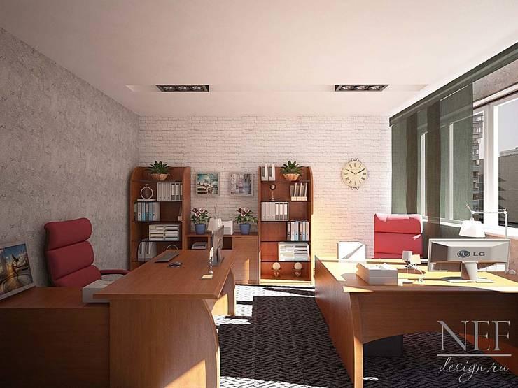Estudios y biblioteca de estilo  por Юлия Паршихина, Colonial