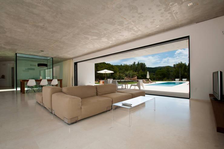 mediterrane Wohnzimmer von Ivan Torres Architects