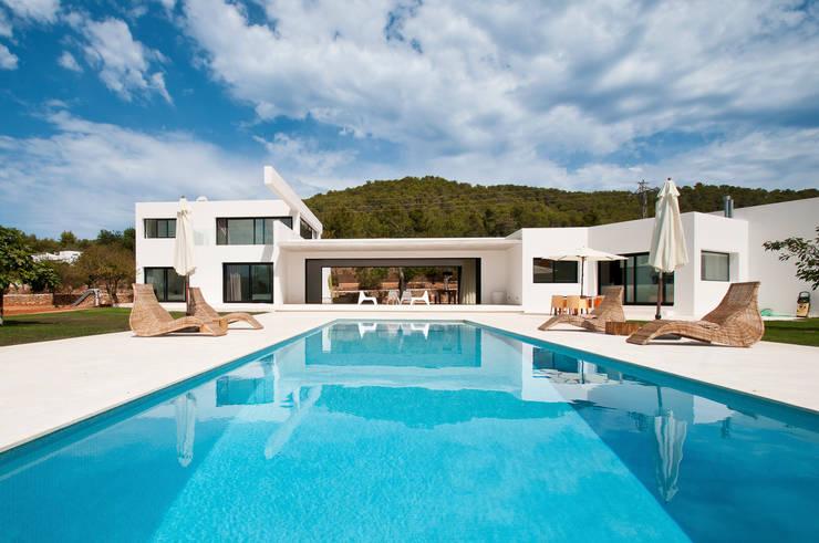 moderne Häuser von Ivan Torres Architects