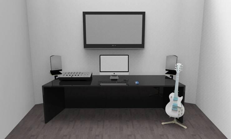 render de propuesta de Armatoste studio Moderno