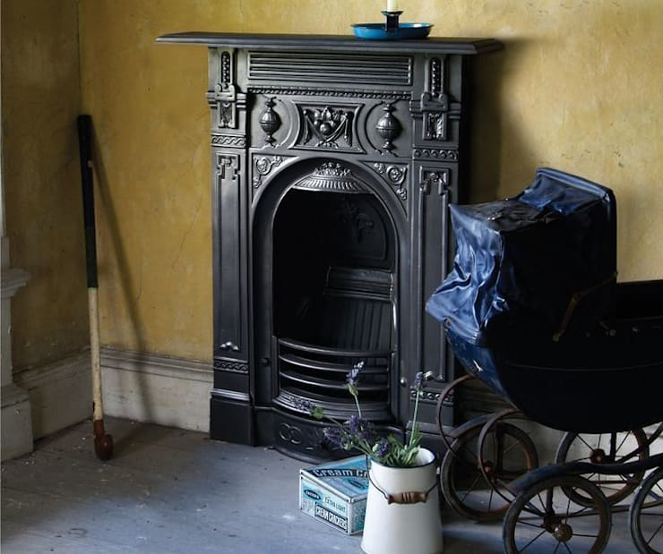 The Victorian Small Combination fireplace : classic  by UK Architectural Antiques , Classic