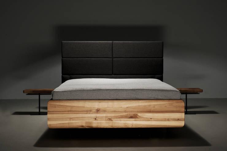 Łóżko BOXSPRING : styl , w kategorii Sypialnia zaprojektowany przez mazzivo