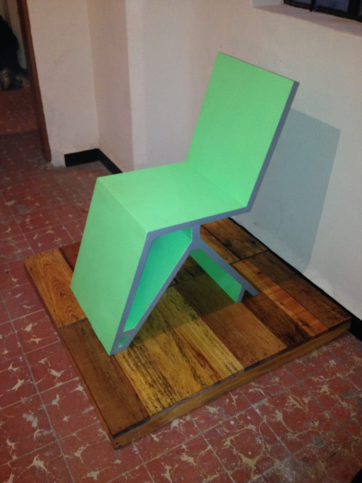 silla: Estudio de estilo  por Armatoste studio