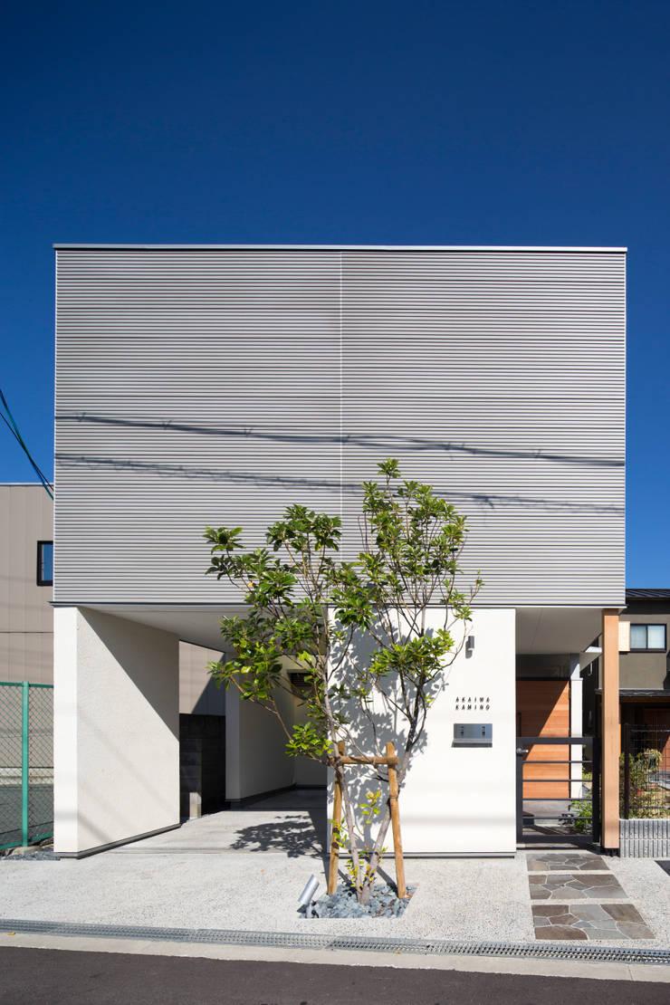 外観: アトリエ・ブリコラージュ一級建築士事務所が手掛けた家です。