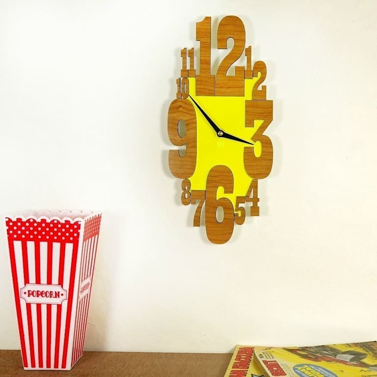 Yellow Countdown Clock:  Household by Hi! TIME