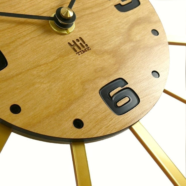 Solar Seeing Stars Clock: classic  by Hi! TIME, Classic