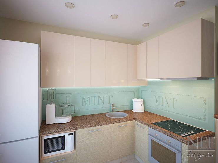 Квартира в современном стиле: Кухни в . Автор – Юлия Паршихина,