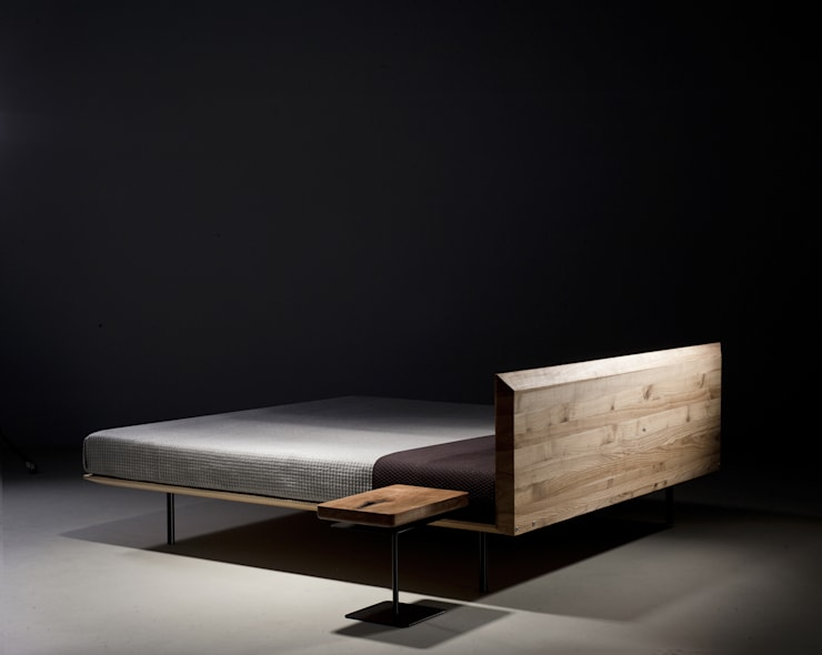Łóżko MODO: styl , w kategorii Sypialnia zaprojektowany przez mazzivo