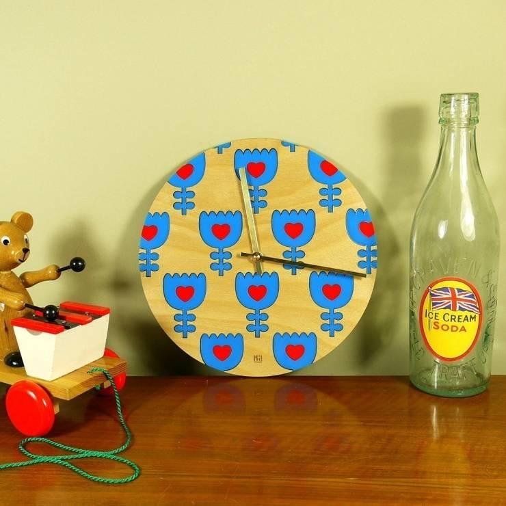 Freja Clock: scandinavian  by Hi! TIME, Scandinavian