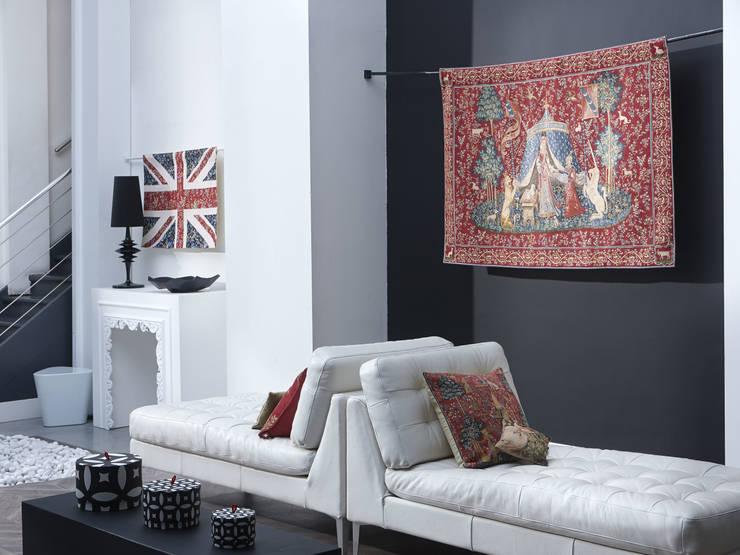 Living room by Tissage Art de Lys