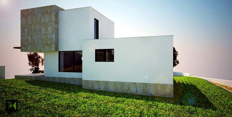 Made_ll_Modular_VIVIENDA en ALICANTE: Casas de estilo  de Madehome Arquitectura