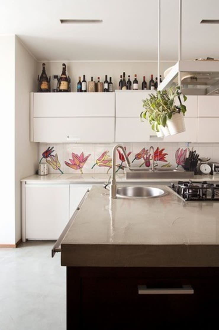 Tuli-pop 1: modern  by The London Tile and Mosaic Company, Modern