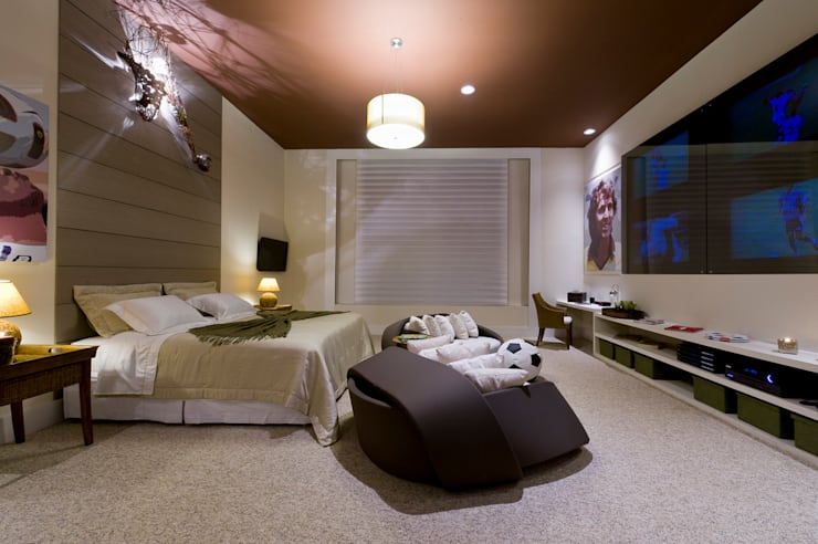 Bedroom by FJ Novaes Light Projects