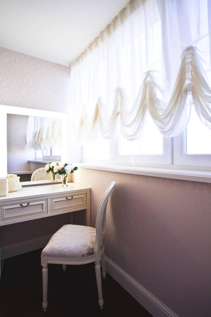 ЖК Мичурино: Спальная комната  в . Автор – Nataly Komova,