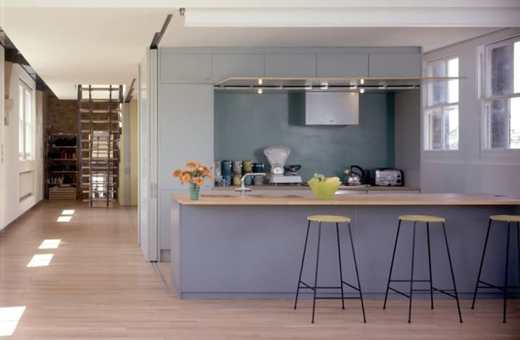 The School House:  Kitchen by reForm Architects, Modern