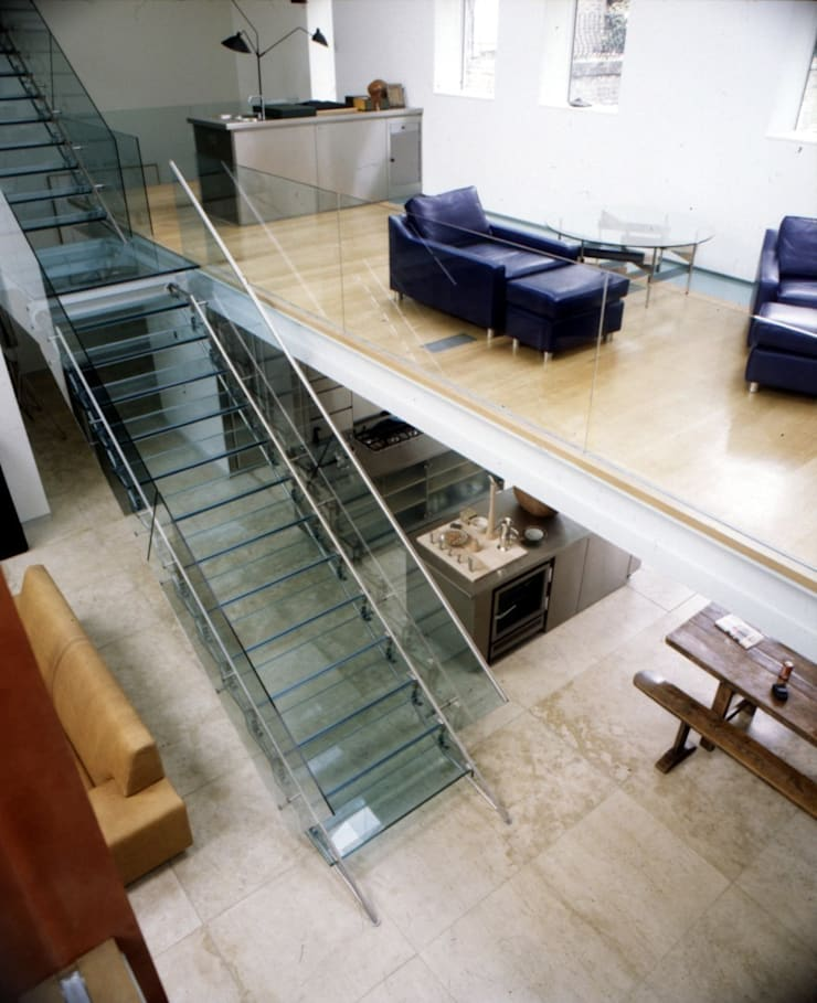 The Art House:  Corridor & hallway by reForm Architects, Modern