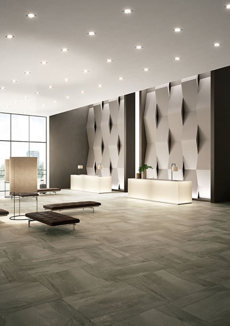 Megalith Mega Brown: modern  by The London Tile and Mosaic Company, Modern