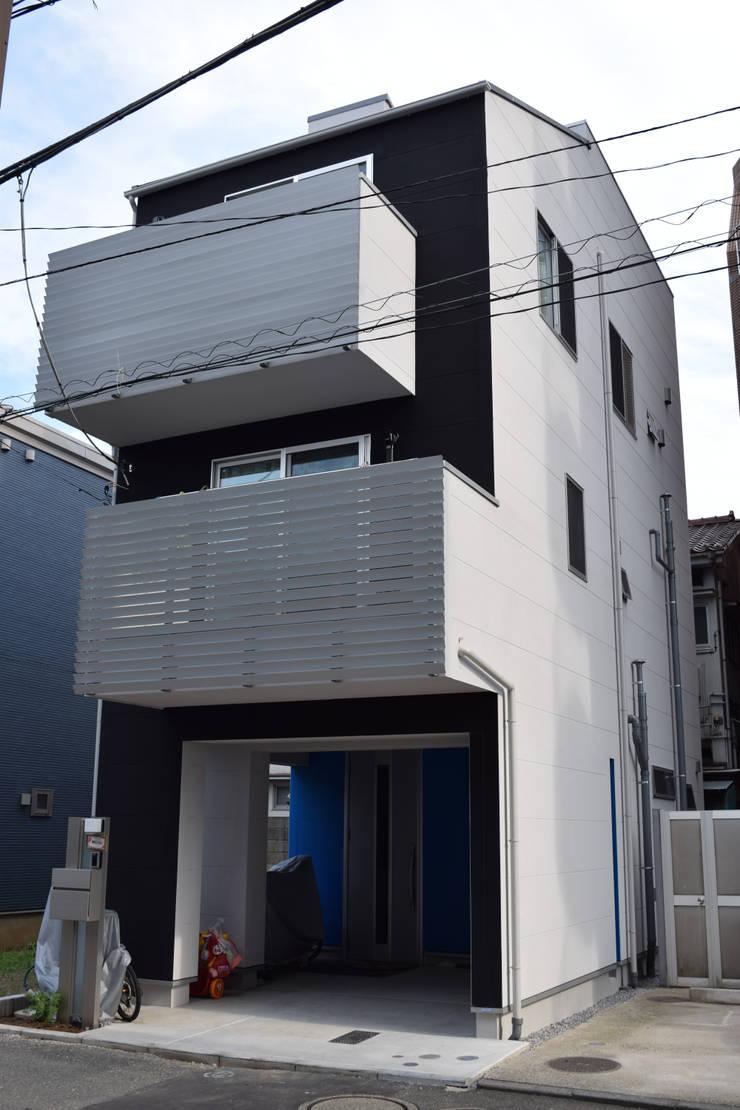 外観: uedA一級建築士事務所が手掛けた家です。,