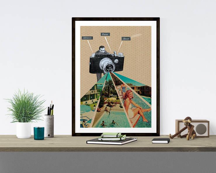 Advance, Focus, Shoot - Sammy Slabbinck: Art de style  par Balibart