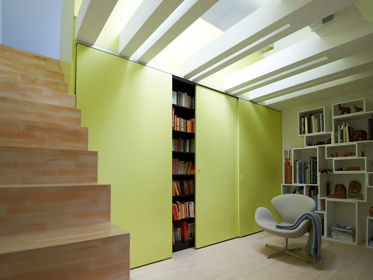 Dachstudio Hamburg:  Arbeitszimmer von DODK Architekten BDA