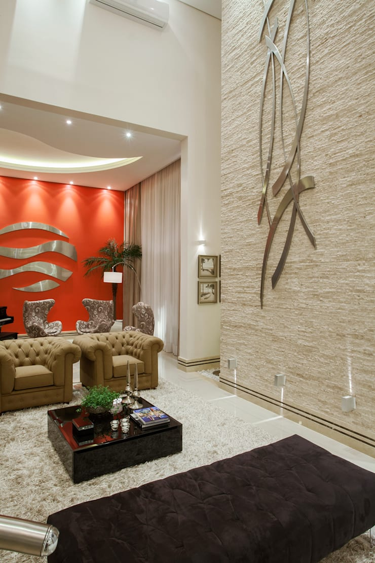 Phòng khách by Arquiteto Aquiles Nícolas Kílaris