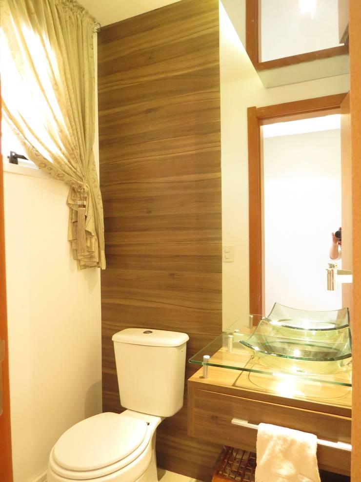 Lavabo: Banheiros  por Paula Oliveira Szabo Arquitetura