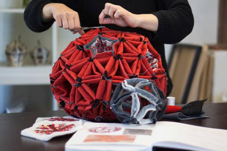 """work in progress"": Art de style  par Maria Friese - Felt Design"