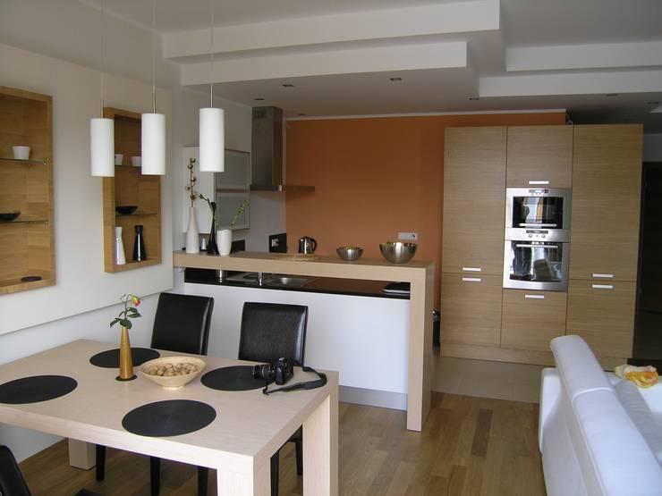 Modern kitchens: styl , w kategorii  zaprojektowany przez DREWMAR,Nowoczesny