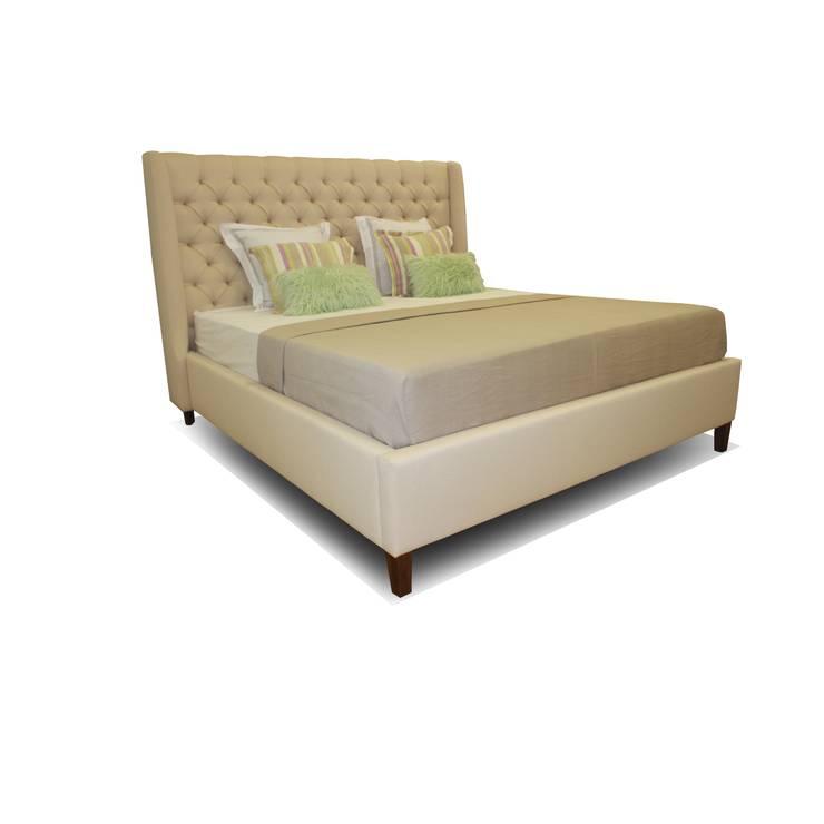 Кровать SOFT: Спальная комната  в . Автор – ROOMA Design & Furniture