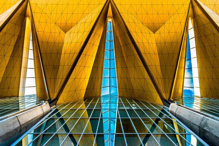 Новый терминал аэропорта Пулково: Аэропорты и морские порты в . Автор – Belimov-Gushchin Andrey, Классический