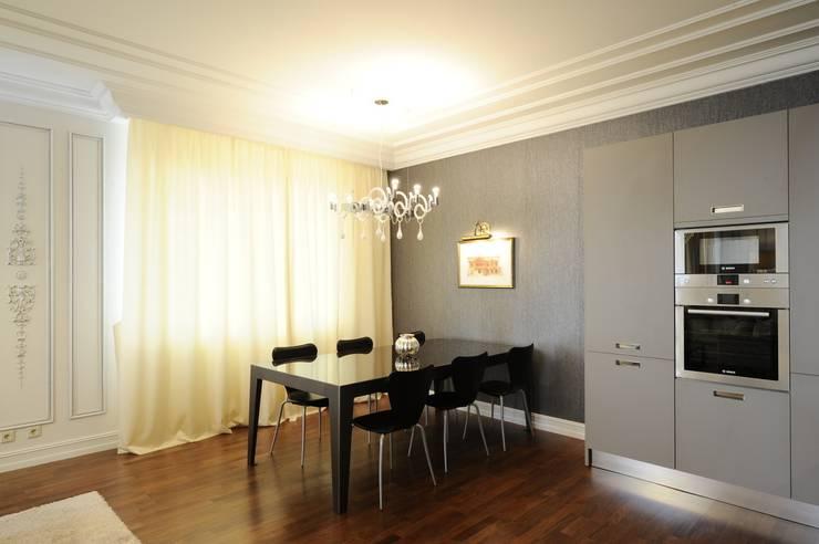 Квартита в ЖК <q>Смоленская застава</q>.: Столовые комнаты в . Автор – Tedderson