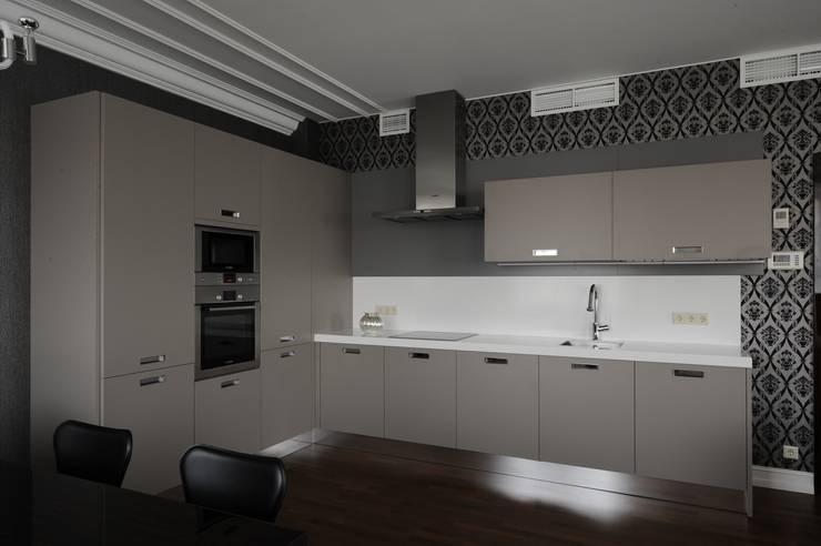 Квартита в ЖК <q>Смоленская застава</q>.: Кухни в . Автор – Tedderson