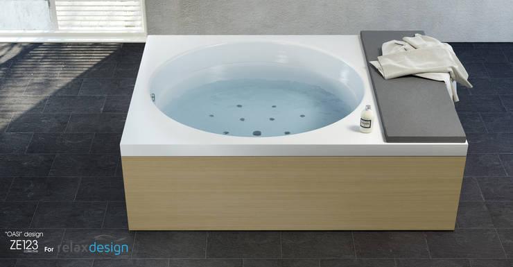 OASI : Bagno in stile  di ZETAE Studio