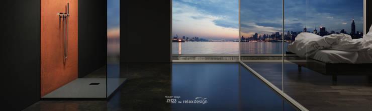 ROCKY: Bagno in stile  di ZETAE Studio