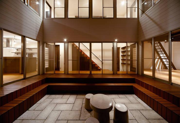 Giardino in stile in stile Moderno di 株式会社リボーンキューブ