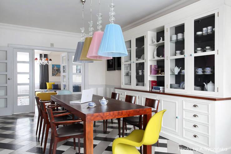Ruang Makan Klasik Oleh MG Interior Studio Michał Głuszak Klasik