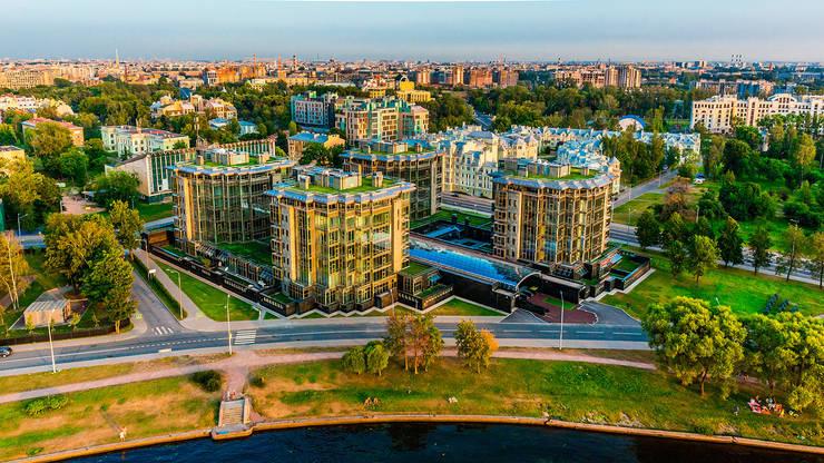 Diadema Club House: Дома в . Автор – Belimov-Gushchin Andrey, Скандинавский