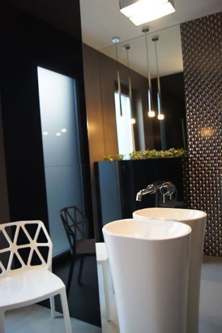 Dom w Gorzowie: styl , w kategorii Łazienka zaprojektowany przez STRUKTURA Łukasz Lewandowski