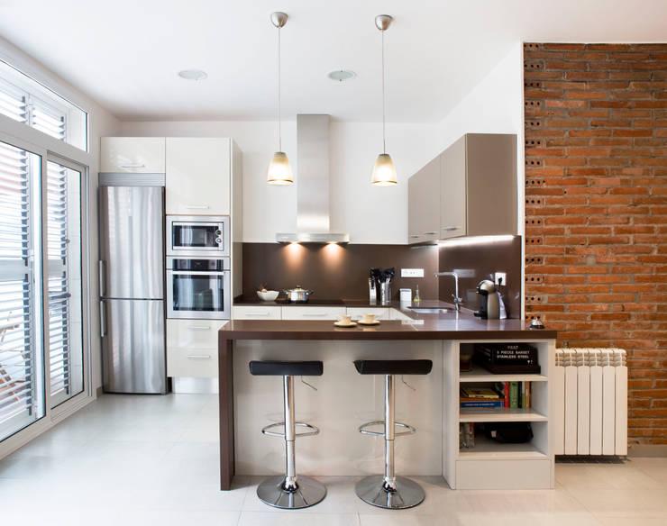 مطبخ تنفيذ GPA Gestión de Proyectos Arquitectónicos  ]gpa[®