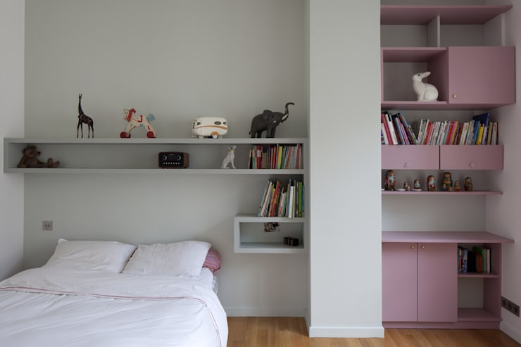 Chambre d'enfant: Chambre d'enfant de style  par Atelier architecture située