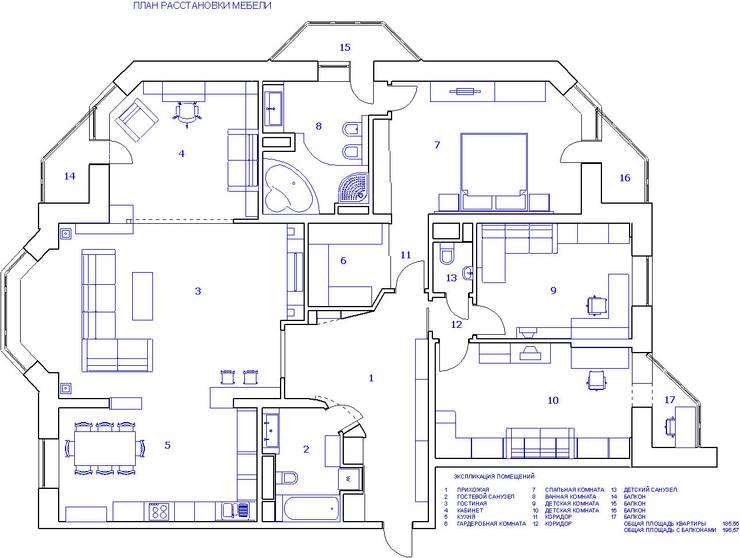 план квартиры:  в . Автор – Дизайн студия Ирины Панасовской