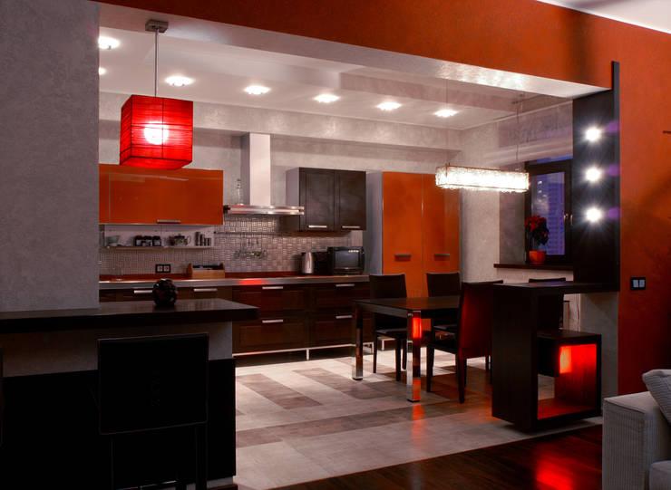 Кухня:  в . Автор – Дизайн студия Ирины Панасовской
