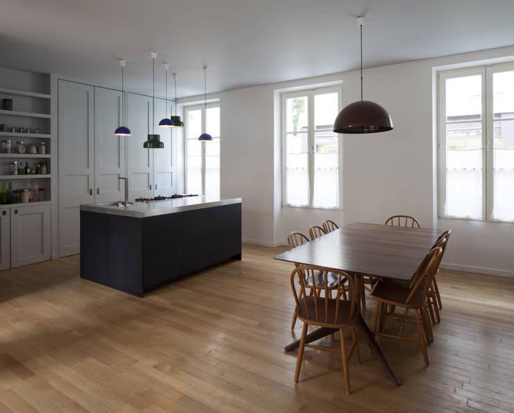 Cuisine - salle à manger: Cuisine de style  par Atelier architecture située