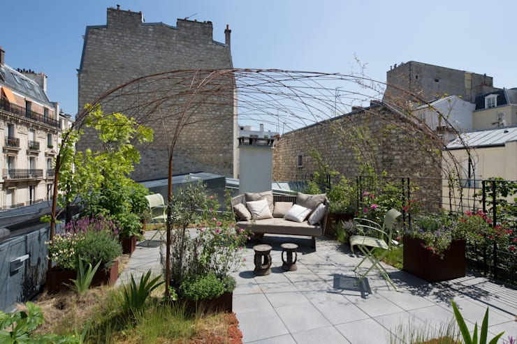Solarium: Terrasse de style  par Atelier architecture située
