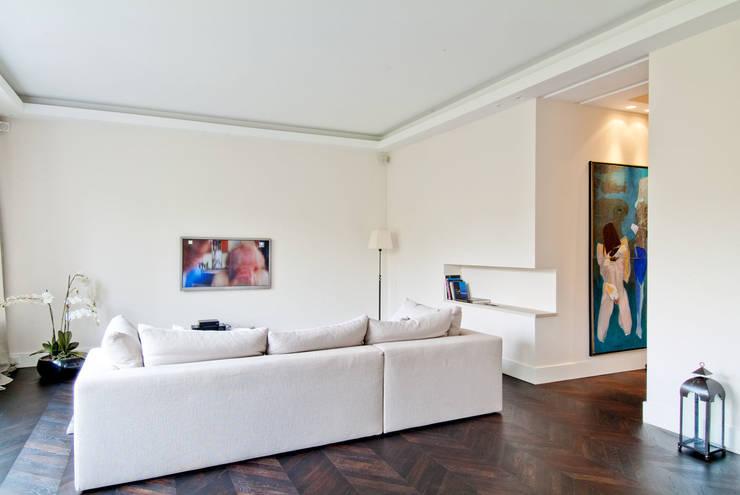 150 m, Śródmieście, Wwa: styl , w kategorii Salon zaprojektowany przez dziurdziaprojekt