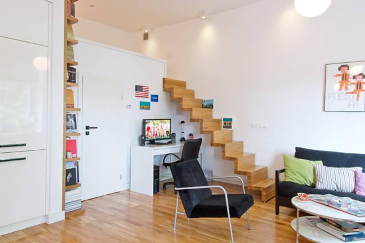 42 m,Stare miasto, Krk: styl , w kategorii Salon zaprojektowany przez dziurdziaprojekt,Nowoczesny