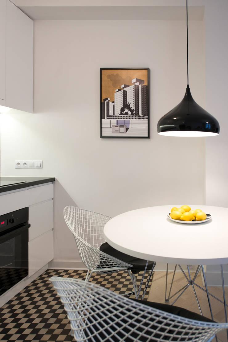 Cocinas de estilo minimalista de dziurdziaprojekt Minimalista