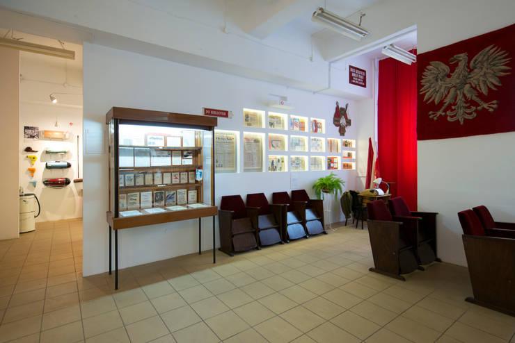 Muzeum PRL, Wwa: styl , w kategorii Muzea zaprojektowany przez dziurdziaprojekt